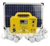 MiniPortable 10W~300W Gleichstrom-Solarhauptbeleuchtung-Stromnetz mit Panel