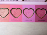 Ugualmente il rossoreare 16-Hour duraturo di amore del fronte arrossisce gamma di colori cosmetica del Blusher del guardaroba