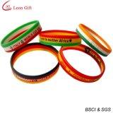 Heißer Verkaufs-buntes Verein-Silikon-Armband für Geschenk (LM1627)