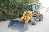 chargeur de pelle 1600kg Zl16 Radlader avec la fourche de palette