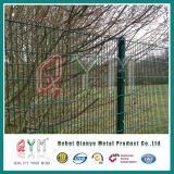 O PVC revestiu a cerca soldada dobro do engranzamento de fio da cerca de fio 868