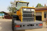 Machine de trottoir 3 tonnes de chargeur avec le bouteur de lame