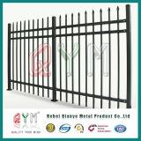 직류 전기를 통한 말뚝 용접 담 또는 분말 입히는 장식적인 철 강철 말뚝 울타리