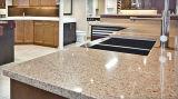 Calacatta Artificial Quartz Countertops e Quartz Stone Slabs Fabricante