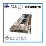 Подгонянные точностью части CNC алюминиевой стальной заварки утюга подвергая механической обработке
