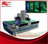 maquinaria del grabado del laser 3D para el vidrio grande del tamaño de la fábrica de Holylaser