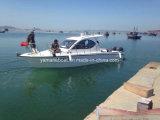 La cabane de 31FT PRF de yachts de luxe croisière avec l'extérieur Hot Sale