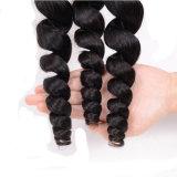Extensão frouxa do Weave do cabelo de Remy do Virgin do brasileiro da classe 100% da onda 8A