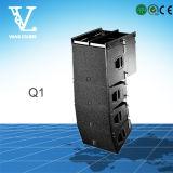 Q1 doble de 10 pulgadas y 2 vías Línea Speaker Array para el sistema PA