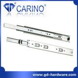 (4503) Glissière en acier roulement à billes de /3-Fold de la Manche télescopique de bonne qualité de tiroir