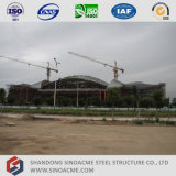 プレハブの大きいスパンの鉄骨構造の会議場