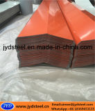 Protezione d'acciaio rivestita di colore PPGI Ridge