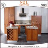 N u. L Fertiglack-Küche-Schrank des buchenholz-E1