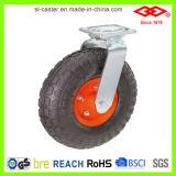 200mm örtlich festgelegter Typ pneumatische Fußrolle (D760-15F200X60)