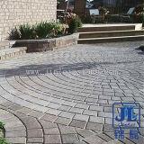 Gevlamd Natuurlijke Graniet Straatsteen voor tuin / Landschap Project