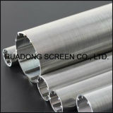 Self Cleaning Wedge Wire Screen Filter Roundness Perfil Wire Welded Candle Filter China Fabricante