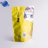 La cremallera que se puede volver a sellar se levanta el bolso de la bolsa con la ventana clara