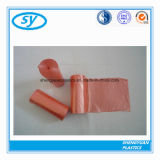 HDPE LDPE/LLDPE Stern gedichteter unterer Abfall-Beutel auf Rolle