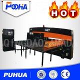 Poinçonneuse hydraulique de commande numérique par ordinateur pour le prix de tôle