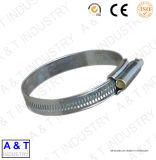 Fascetta stringituba europea di stile 12.7mm, fascetta stringituba dell'acciaio inossidabile dell'azionamento della vite senza fine
