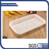 Bandeja plástica descartável Eco-Friendly para o empacotamento de alimento