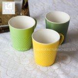 La porcelana popular de China del diseño de la promoción asalta las tazas 10oz 120z 14oz del té