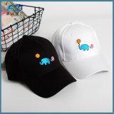 Painel 6 OEM Baseall preta PAC Bordados Sport Hat