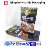 Frutta della FDA di plastica su ordinazione o arachidi asciutta delle noci che imballano sacchetto