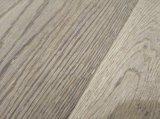 Suelo cepillado del entarimado/de madera dura del roble/suelo de madera dirigido