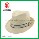 Wide Braid Fedora Hat (CPA-14-1002)
