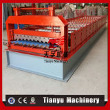 Telhado de metal corrugado Rollformers máquina de formação de rolos ladrilhos vidrados