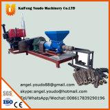 (La sciure de bois le riz spathes) de la biomasse de briquettes de charbon de bois de la machine avec moteur Diesel