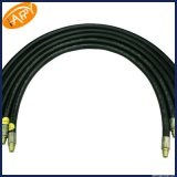 Tuyau hydraulique avec le fil d'acier simple ou double tressé