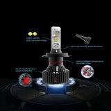 Lmusonu T8 H1 H3 H4 H7 H11 H13 9005 9006 9012車LEDのヘッドライトのクリー族Xhp50 30W 8000lmの高く明るい自動車の付属品