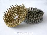 Гальванизированный ноготь толя провода катушки хвостовика кольца