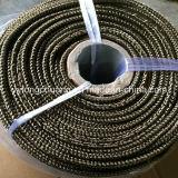 Aplicação de alta temperatura de fibras de basalto ronda trançada/corda de vedação quadrado