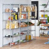 Supermarkt-Stahldraht-Bildschirmanzeige-Regal