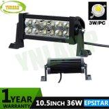 barre automatique d'éclairage LED de 10.5inch 36W 2520lm IP67 Epistar DEL