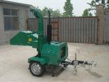 Sfibratore di legno mobile del motore diesel