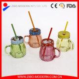 Популярный льдед - опарникы каменщика холодного питья стеклянные с ручкой и сторновкой