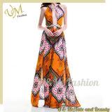 Sommer-Art-Rayon-Druck-reizvolle Dame-Kleider für Partei
