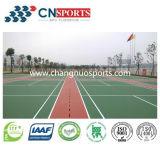 プロのバスケットボールまたはバレーボールまたはバドミントンまたは体操裁判所のスポーツの床張り
