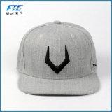 Do boné de beisebol liso do chapéu do bordado tampão feito sob encomenda do Snapback
