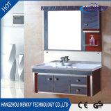 販売のための光沢度の高い壁に取り付けられた浴室の虚栄心