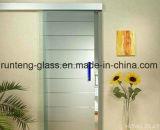 l'acido glassato traslucido decorativo del raso di 10mm ha inciso il vetro Tempered