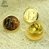 Pin отворотом золота DIY металла фабрики сразу изготовленный на заказ перекрестный