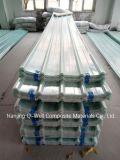 Il tetto ondulato della vetroresina del comitato di FRP/di vetro di fibra riveste W171020 di pannelli