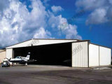 Diseño prefabricado del hangar de la estructura de acero