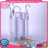 Wegwerfbrust-Entwässerung-Flasche, Wasser gedichtet, 4-Chambers, negativer Druck-Entwässerung
