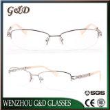 Frame 42-002 van het Metaal van het Oogglas van Eyewear van het Ontwerp van de manier Recentste Optisch